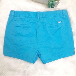 Vineyard Vines turquoise shorts size 10